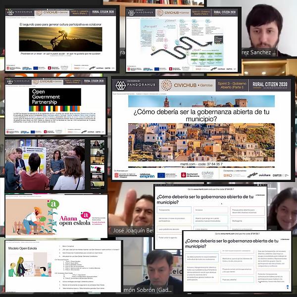 collage sprint gobierno abierto 11 de fe
