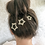 Thumbnail: Etoile Star Hand Beaded Hairpins set of 3