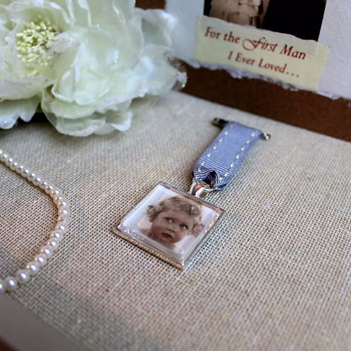 Father Of The Bride Charm Gift