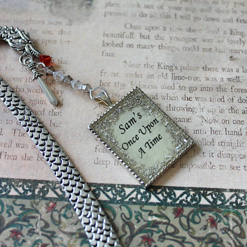 Once Upon a Time Dragon Bookmark