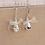 Thumbnail: Crystal Bow Earrings