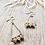 Thumbnail: Handbeaded Rhinestone Earrings