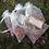 Thumbnail: Personalised Confetti Organza Bags x10