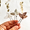 Thumbnail: Bracken Beaded Bridal Hair Pins Set of 3