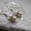 Thumbnail: Sterling Silver Crystal Ball Earrings