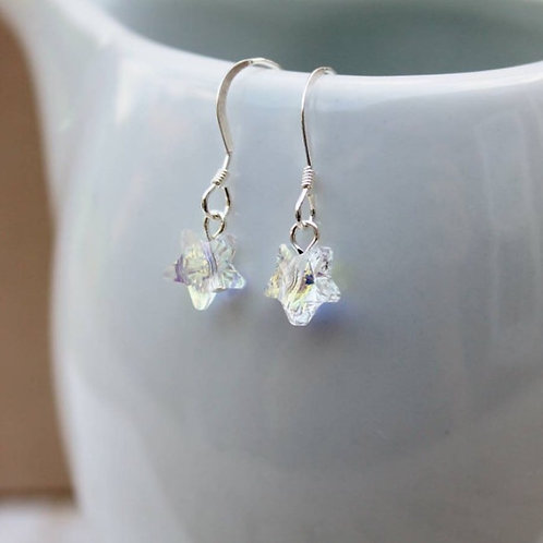 Sterling Silver 'Little Star' Earrings