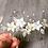 Thumbnail: Handbeaded Floral Haircomb