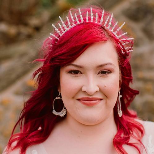 Statement Alternative Bridal Crown ~ Venus