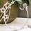 Thumbnail: Étoile Hand Beaded Star Lucky Wedding Horseshoe