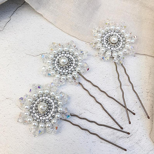 Vintage Style Art Deco Hairpins ~ Garbo