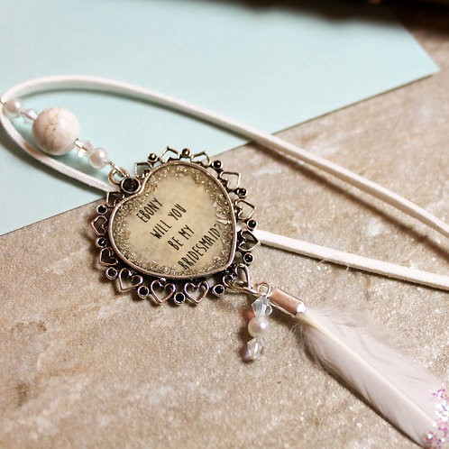 Boho Bridesmaid Bookmark