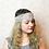 Thumbnail: Tulle And Diamante Bridal Hair Accessory