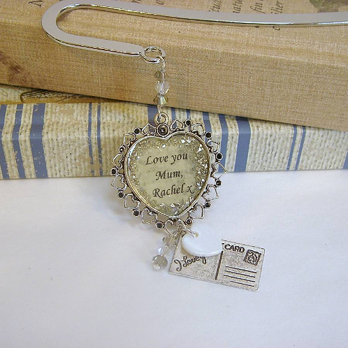 Vintage style 'I love you' Bookmark