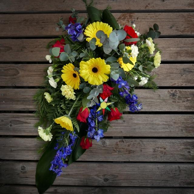 Floristgaraget begravningsblommor nykarl