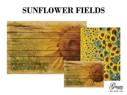 Sunflower Fields (Grace on Design Decoupage)