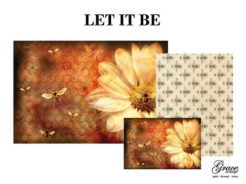 Let it Be - Grace on Design Decoupage (PREORDER - Ships second week in January)