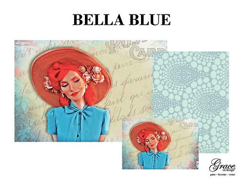 Bella Blue (Grace on Design Decoupage) PREORDER ships 2nd week in January