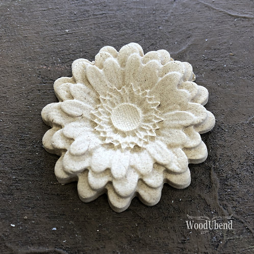 Classic Rounded Petal Flower WUB0354