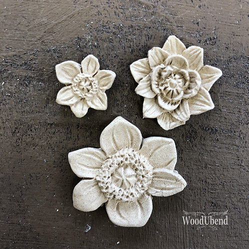 Flower Set (3 Pieces) WUB0464