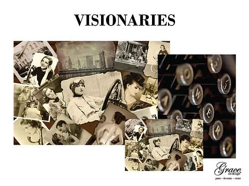 Visionaries (Grace on Design Decoupage) PREORDER - ships 2nd week in January