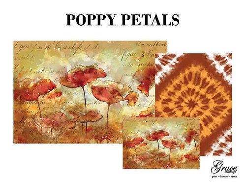 Poppy Petals (Grace on Design Decoupage)