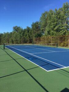TENNIS & PICKLE BALL COURT