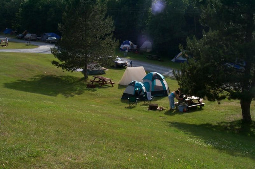 TENTING IN JULY