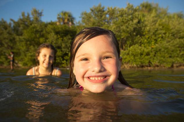 Enjoy a dip in Lake Charles