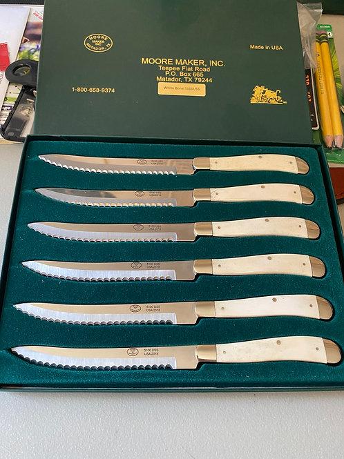 Bone Handle Steak Knives