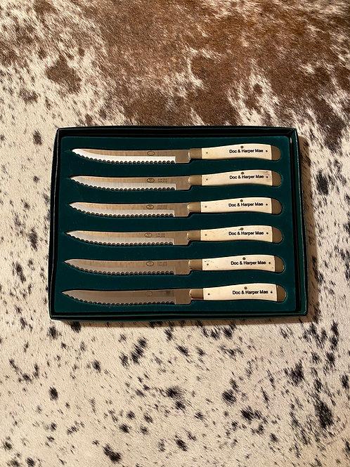 Steak Knives Engraving