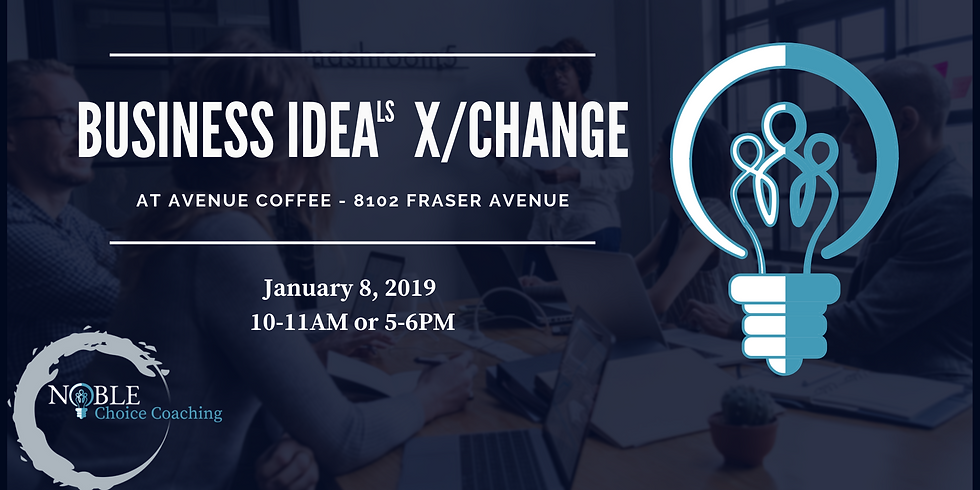 Business IdeaLS X/Change - January 2019 morning session