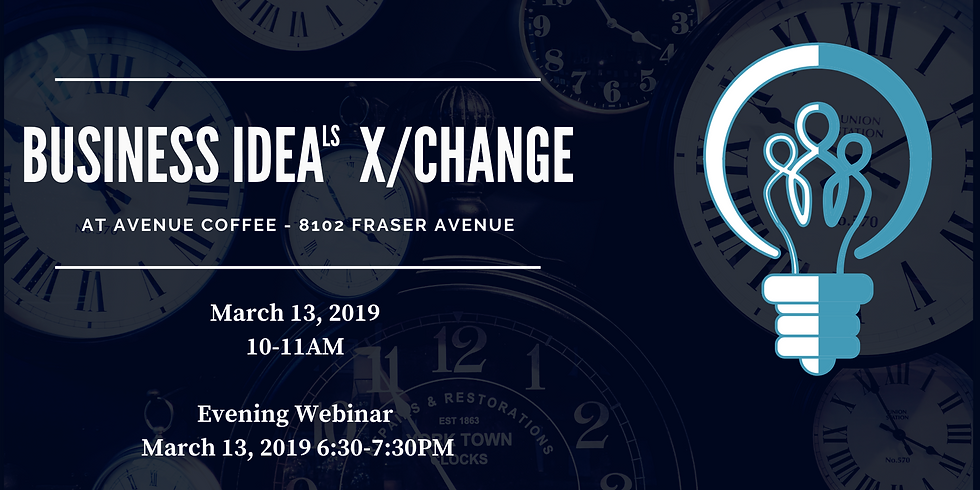 Business IdeaLS X/Change - March 2019 in-person session