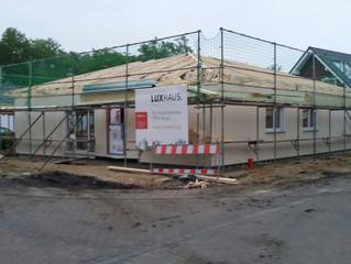 Und wieder ein neues Luxhaus in Sandersdorf bei Brehna.