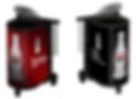 Coolers de degustação com imagens lenticulares
