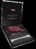 Caixa Press Kit Lenticular LG Experience-2012