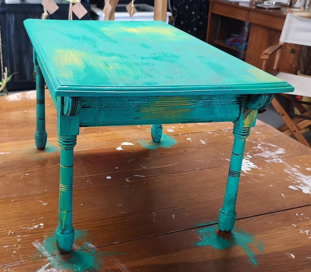 Studio H Mineral Paint Furniture Refurbish