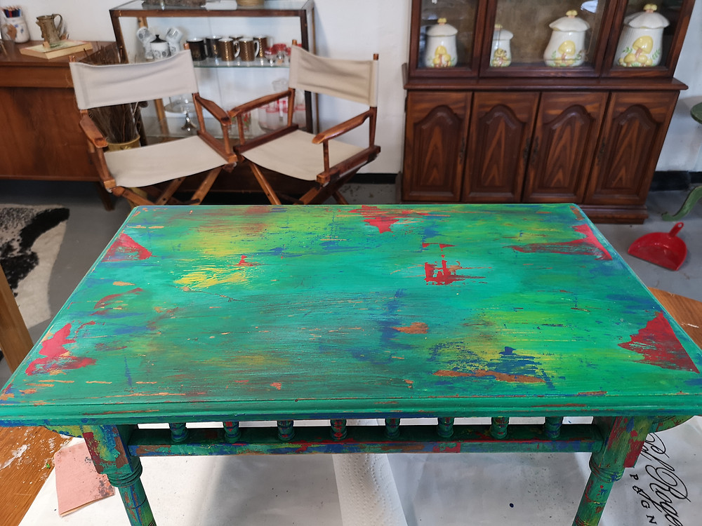 Studio H Mineral Paint Furniture Refurbish