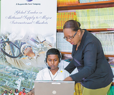 Dow Village pupils get learning boost