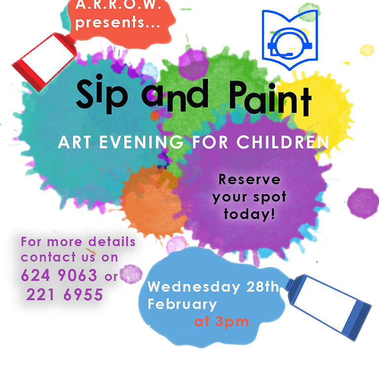 'Sip and Paint Evening'