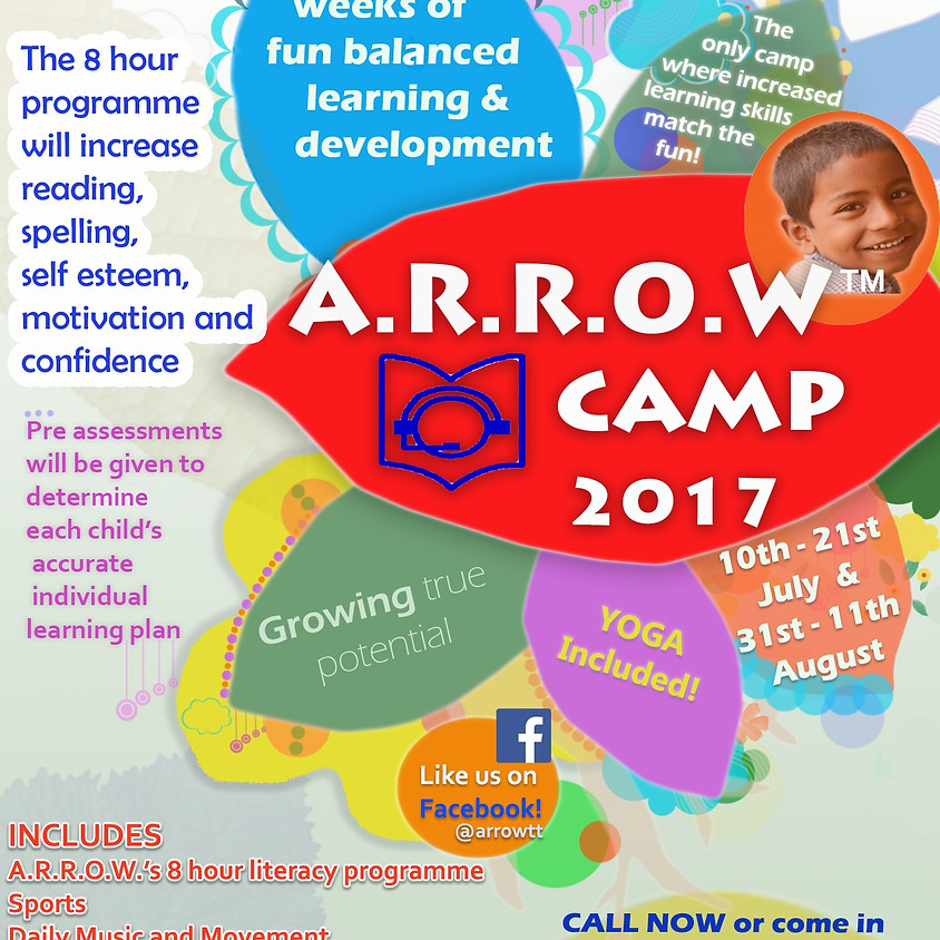 A.R.R.O.W. SUMMER CAMP 2017