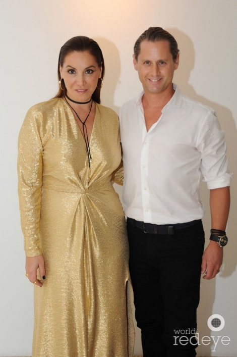 Justin y Soledad Lowe...Power couple