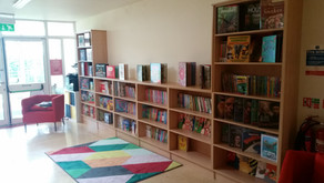Our New Library....a place to nourish the imagination