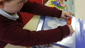 It's a very busy life being in Junior Infants.