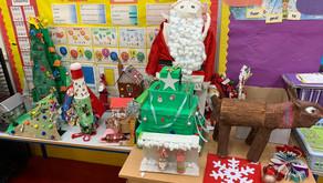 Second Class Christmas Art