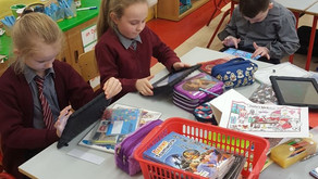 Literacy Lift-off in 2nd Class