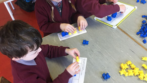 Partitioning in junior infants