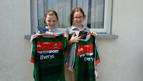 Signed Mayo GAA Football Jerseys Raffle