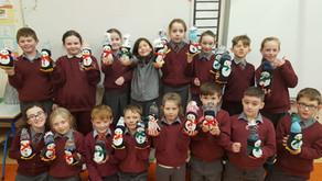 Third Class Christmas Penguins