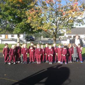 Junior Infants Discovering Autumn!!