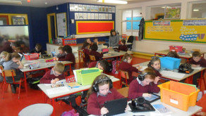 Literacy Lift-Off in 1st Class